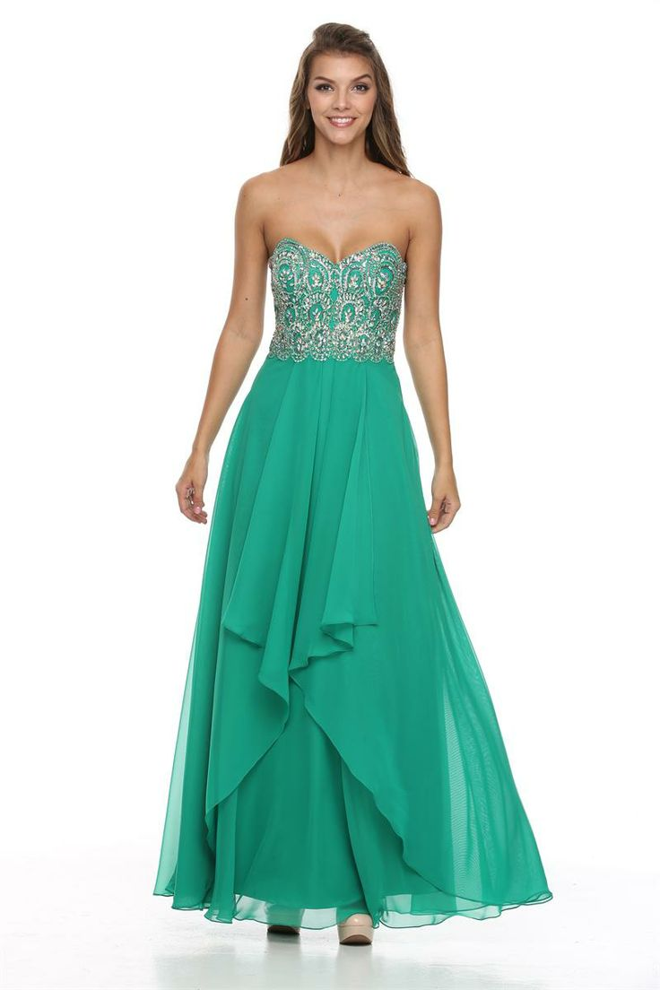 32 best Trendy Prom dresses images on Pinterest | Formal evening ...