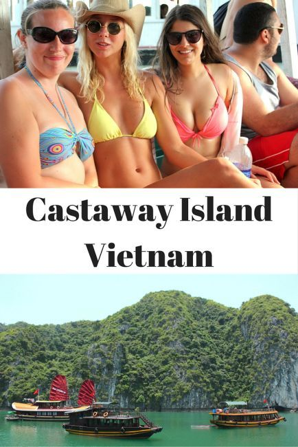 Castaway Island Vietnam - The best Halong Bay Party Cruise Your Mother Doesn't Know About