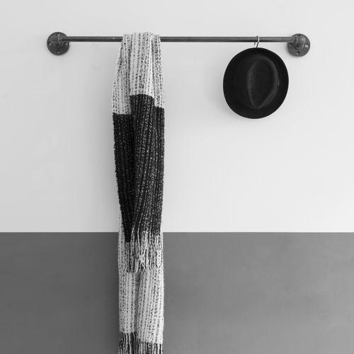 10 besten garderobe und ankleidezimmer industrial pipe for Garderobe wasserrohr