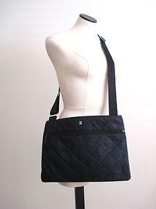 ORDINING & REDA Swedish Women Black Quilted Tablet Crossbody Bag 14x10  | eBay