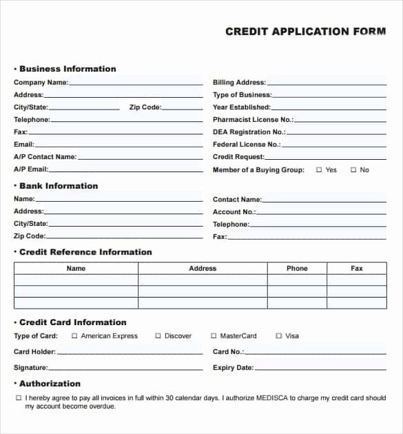 Consumer Credit Application Form Lovely Excel Templates Page 4 Of 8 Free Excel Spreadsheets Formats Xlsx Application Form Job Application Form Application