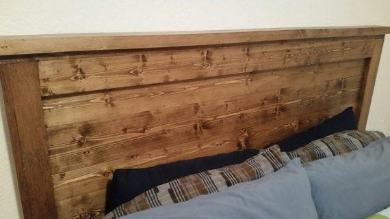 Wooden Headboard Pine Headboard Handmade Wooden Headboard