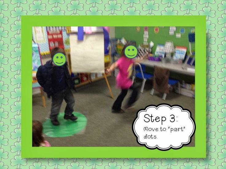 great kinesthetic way to work on number bonds!