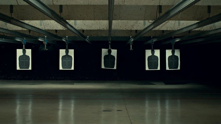 The shooting range at the precinct (when Lexi gets tired of Jason's cocky attitude and uses her Gift to throw his shot)