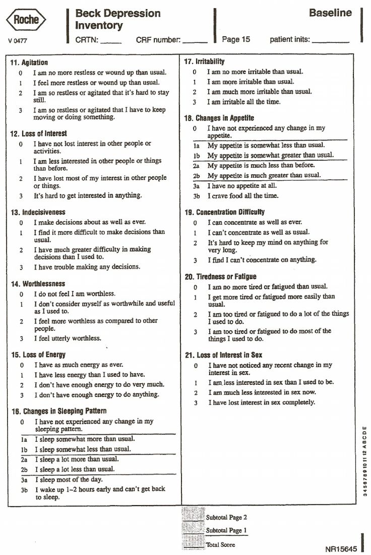 the depression anxiety and depression scale This scale is not designed to make a diagnosis of depression or take the place of a professional diagnosis answer each of the 18 items below about how you have felt and behaved during the past week .