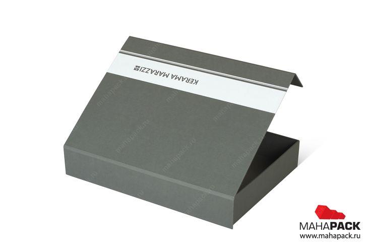 Брендированная коробка с клапаном на магните для каталогов под заказ