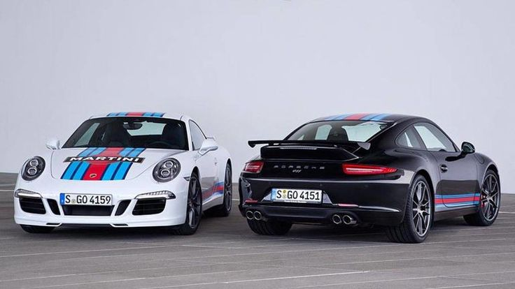 The Porsche 911 Martini Racing Edition graphics are coming stateside