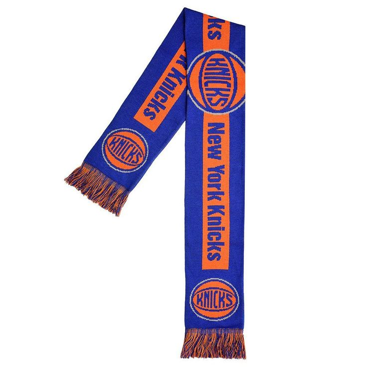 Adult Forever Collectibles New York Knicks Big Logo Scarf, Adult Unisex, Multicolor