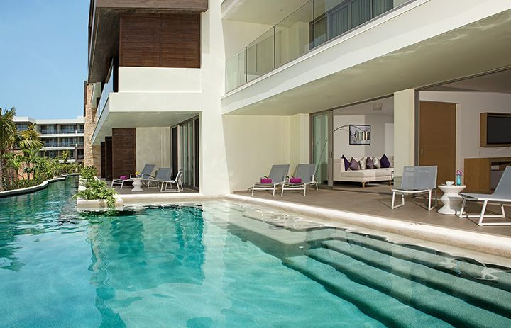 Swim Out Suites at Breathless Riviera Cancun