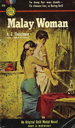 A.S. Fleischman - Malay Woman