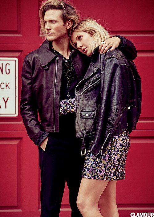 Ellie Goulding & Dougie Poynter in Glamour.