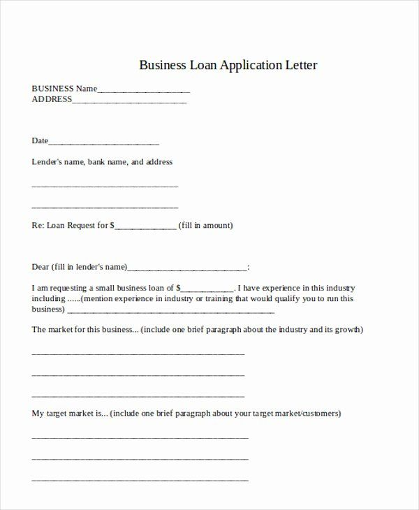 Business Loan Proposal Template In 2020 Job Application Letter