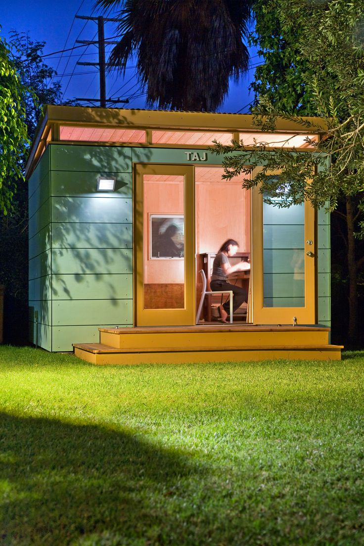 Study Away In Your Modern Shed Home Office