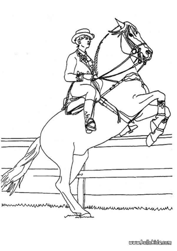 work horse coloring page - Google Search