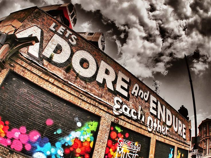 Lets Adore And Endure Each Other -  ESPO - Village Underground, Shoreditch, East London