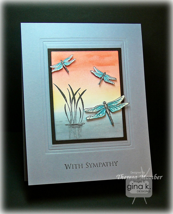 23 best Dragonfly cards images on Pinterest | Dragonflies, Dragon ...