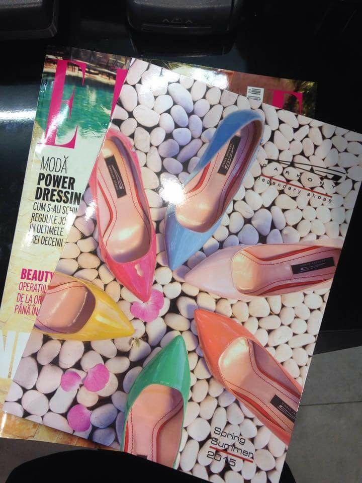 Colectia SS'15 in Revista Elle