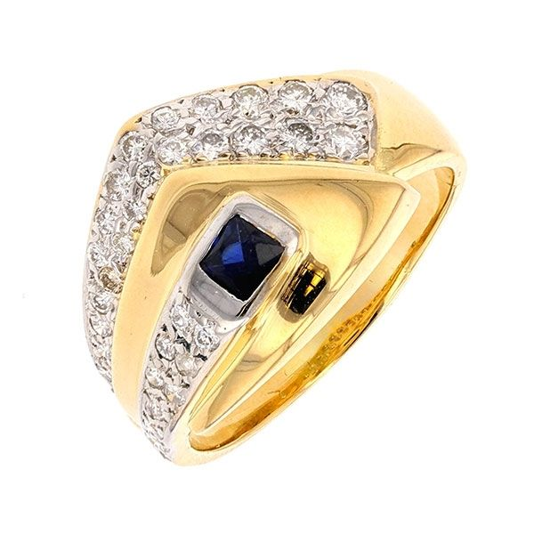 bague or 18 carats occasion