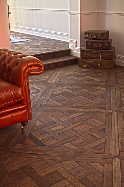 Parquetry Timber Floors - panel detailing & awesome craftsmanship.