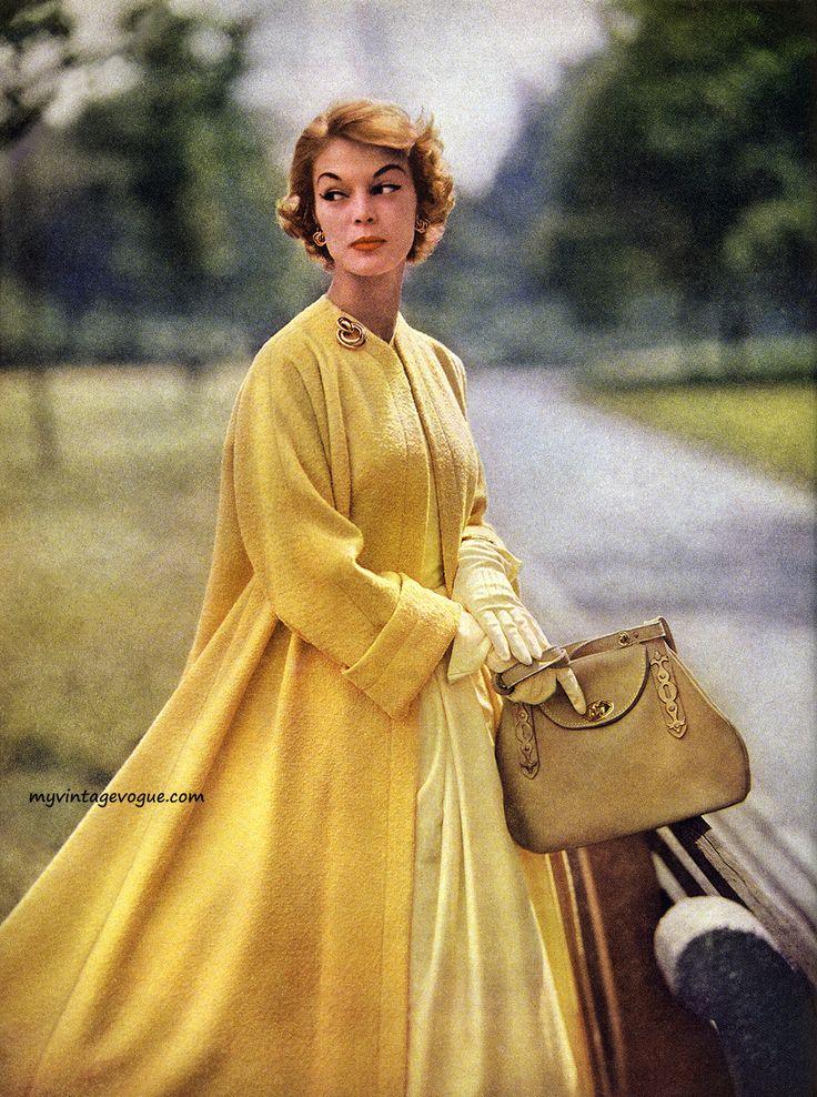 Simplicity Spring Pattern Book 1953 - model Jean Patchett