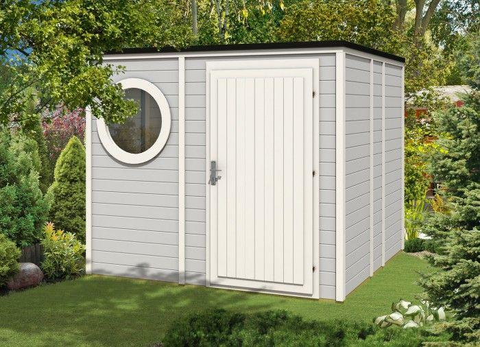 Design Gartenhaus Cubus-Style 250