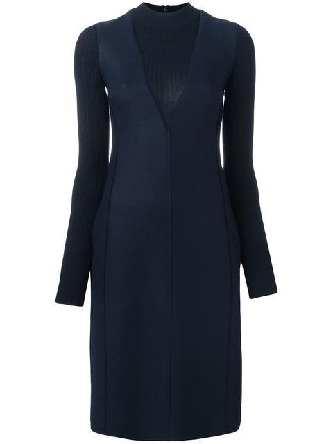 PAUL SMITH turtleneck layered effect dress. #paulsmith #cloth #dress