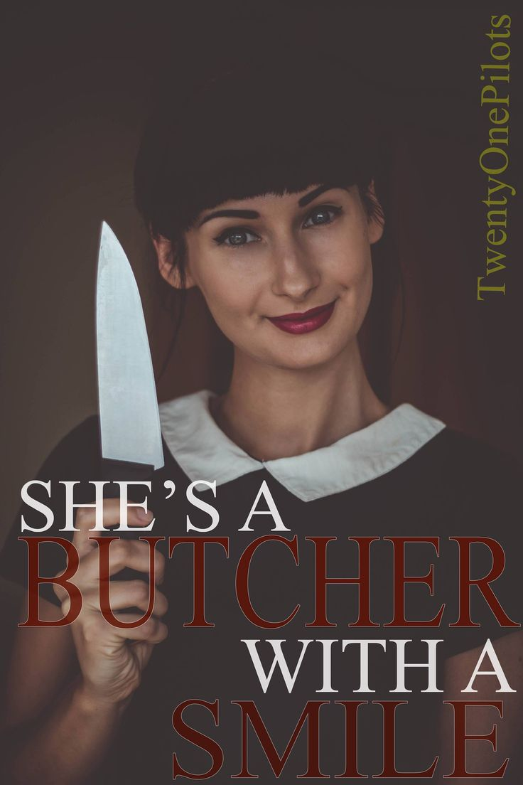 Commercial Use   Twenty One Pilots She's A Butcher With A Smile Custom Digital Download Poster 12x18   Printable Wall Decor   21 Pilots Fans