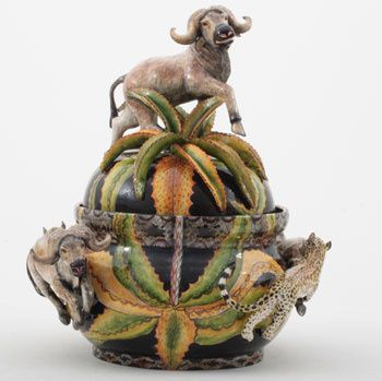 Ardmore Ceramics: Buffalo Tureen AAA