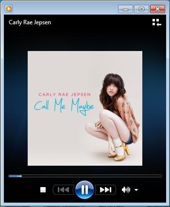 "Carly Rae Jepsen album ""Kiss!"" single #3 Call Me Maybe"