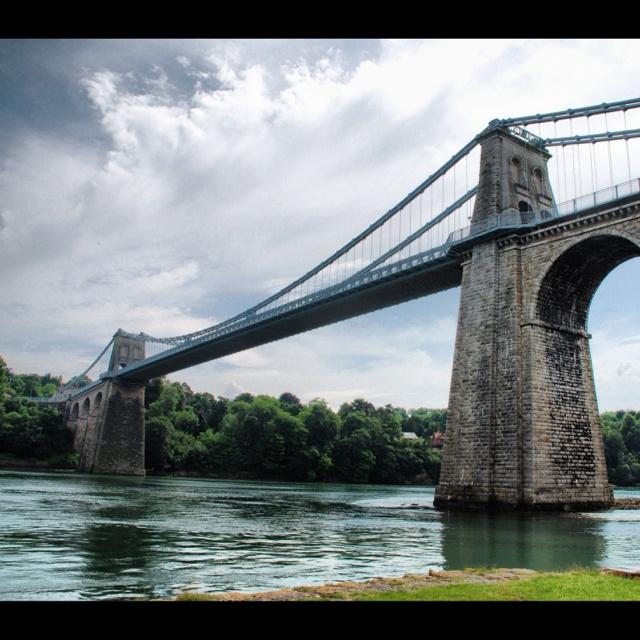 Menai Bridge - My favourite bridge.
