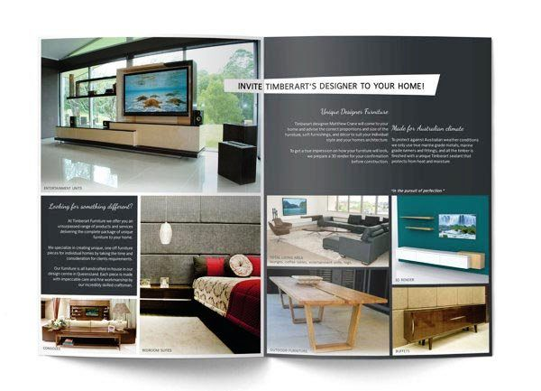 Desain katalog brosur furnitur modern furniture brochure for P furniture and design avon