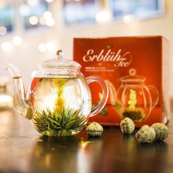 Creano Erblüh-Tee Geschenk-Set Weißer Tee