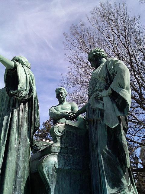 Alma Mater Statue University of Illinois |