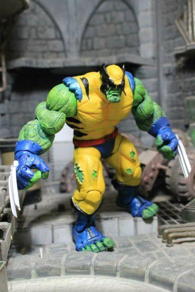 Wolvie-Hulk (Marvel Legends) Custom Action Figure