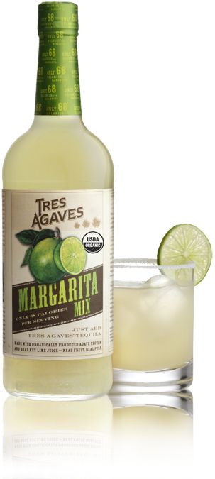 Margarita Mix  - only 68 calories, but 100% taste (we loved it before we realized it was low cal.. tart, sweet, and fresh tasting!