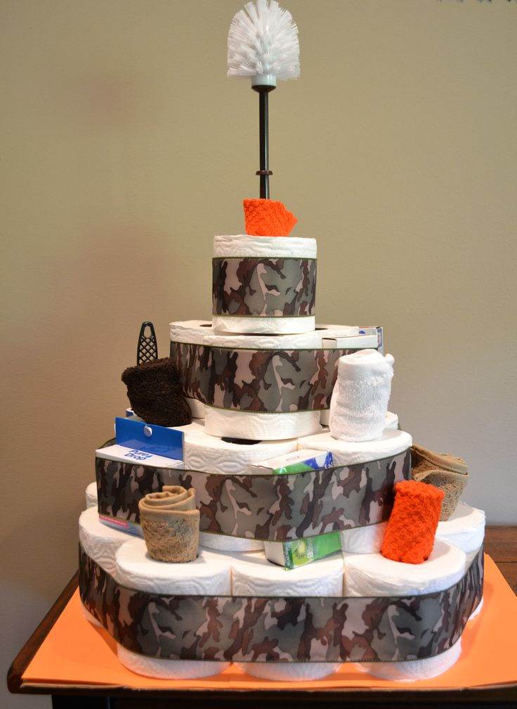 Toilet paper cake housewarming party for a single guy Housewarming gift for guy