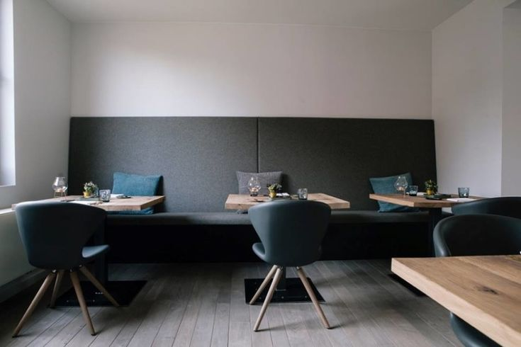 Concept 902.11 chairs at Restaurant L'oh in Belgium.