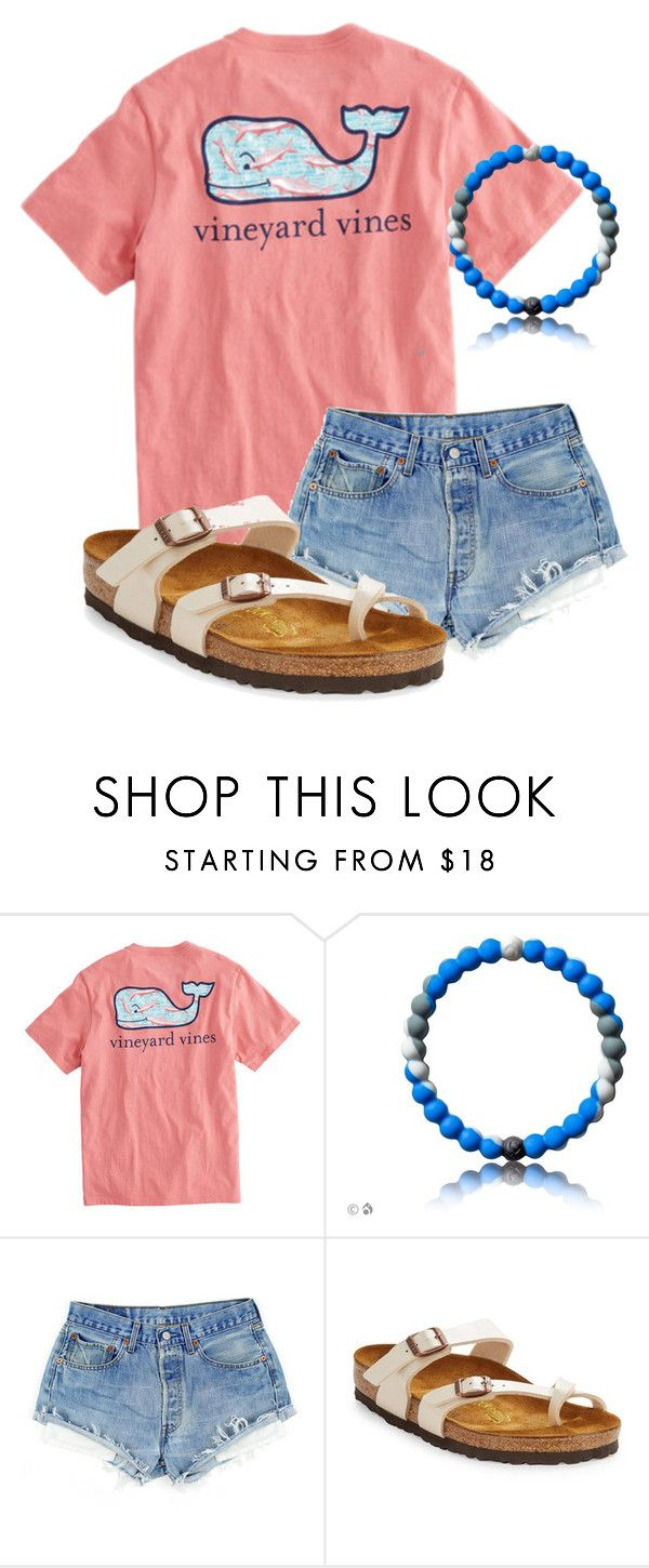 """""""New Lokai!!!!"""" by christyaphan ❤ liked on Polyvore featuring Vineyard Vines and Birkenstock"""