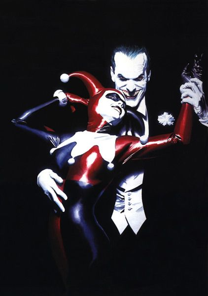 Alex Ross: Joker and Harley Quinn