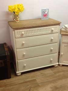 Old priory 4 drawer drawers painted in f