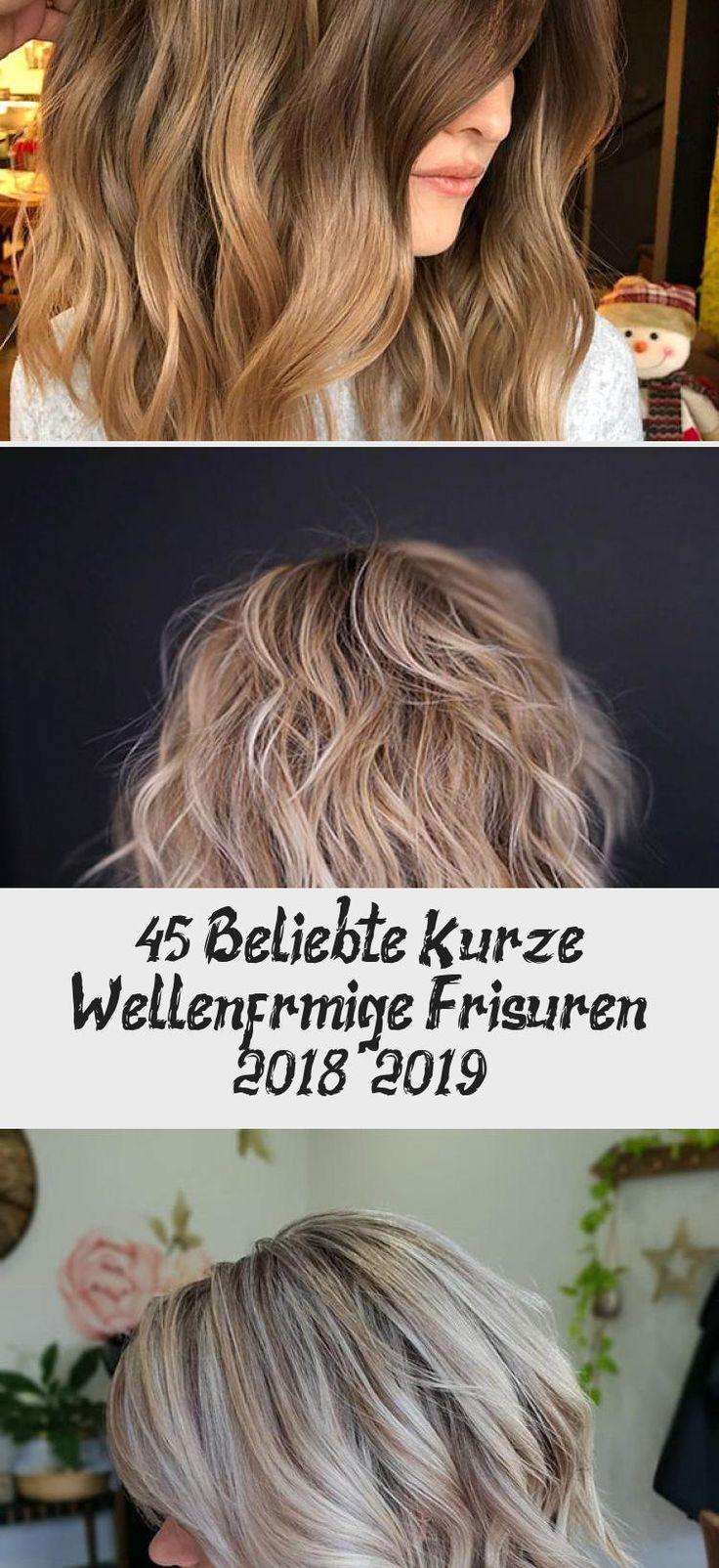 45+ Popular Short Wavy Hairstyles 2018 – 2019