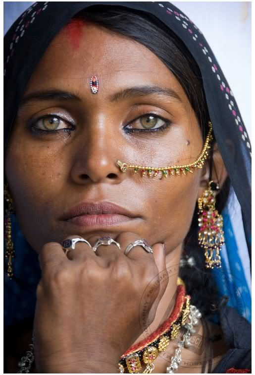 Beautiful #Rajasthani #Tribal Woman, #TravelPhoto uploaded by anilasingh1977