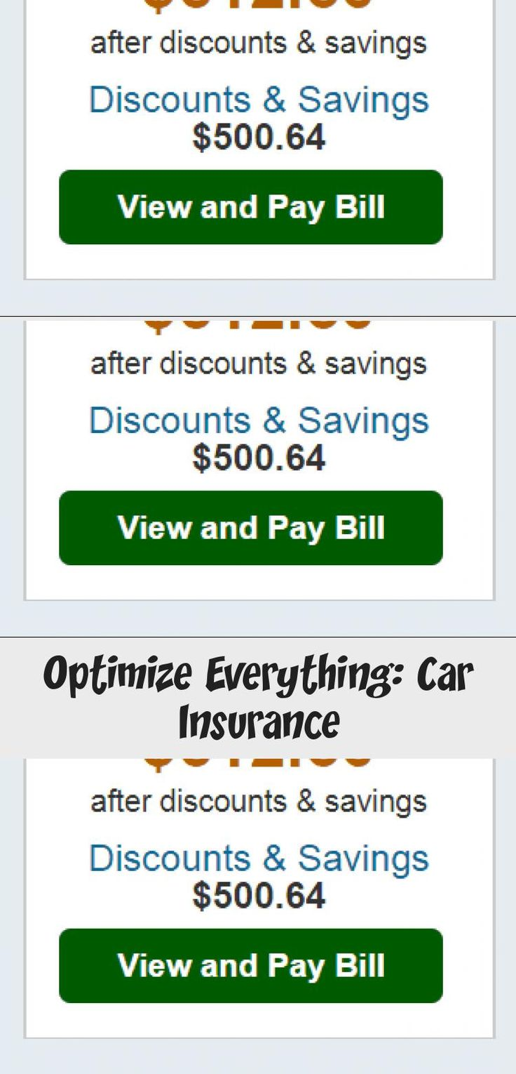 Optimize Everything Car In 2020 Car Insurance Insurance