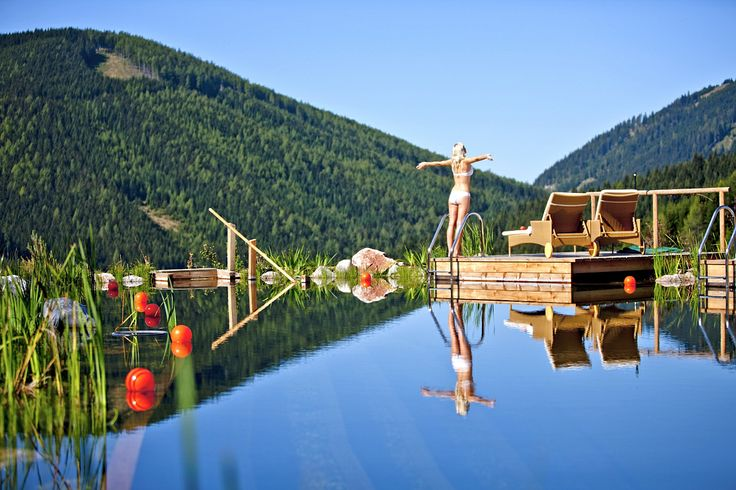 Körper und Geist entspannen, loslassen, Kraft und Wellness tanken, die beiden Thermen Aqualux in Fohnsdorf und Wildbad Einöd bei Dürnstein laden zum Relaxen ein.