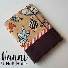 """Freebook: U Notebook Case """"Hanni"""" – nähen"""