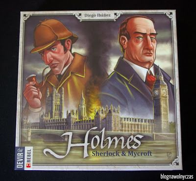 Blog na wolny czas: HOLMES: SHERLOCK & MYCROFT: pojedynek wielkich umy...