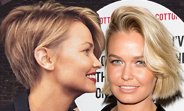 Lara Bingle debuted her chic new pixie hairdo in a fun Instagram video. (12 November 2015)