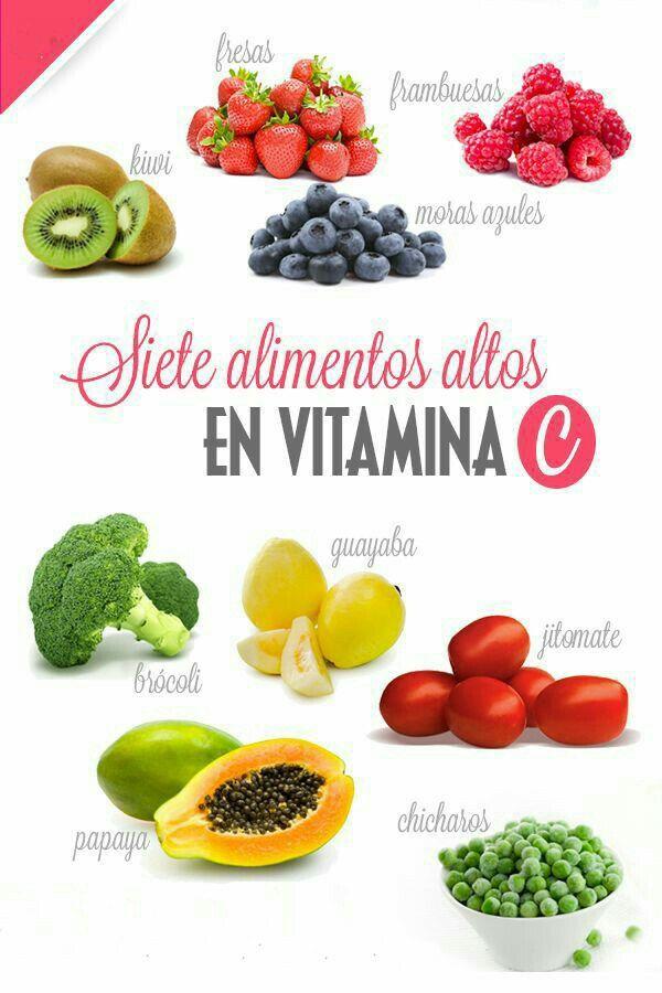 15 Alimentos con Vitamina C