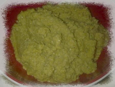 Tapenade d'olive verte