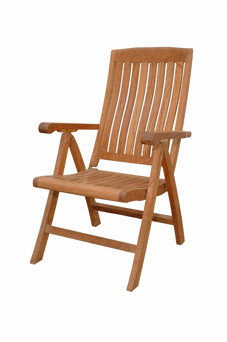 Wooden Folding Chairs With Arms - Katana 5 position recliner armchair